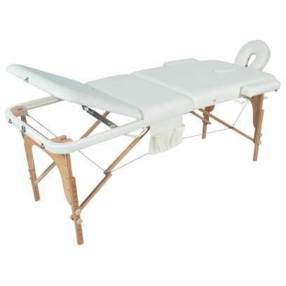 Массажный стол складной деревянный JF-AY01 3-х секционный М/К (МСТ- 103Л)